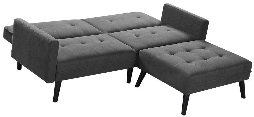 pikowana sofa rozkładana