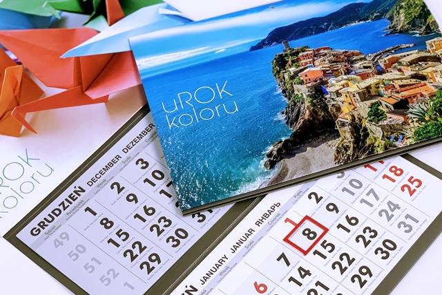 Kalendarze firmowe – Promocja firmy przez cały rok